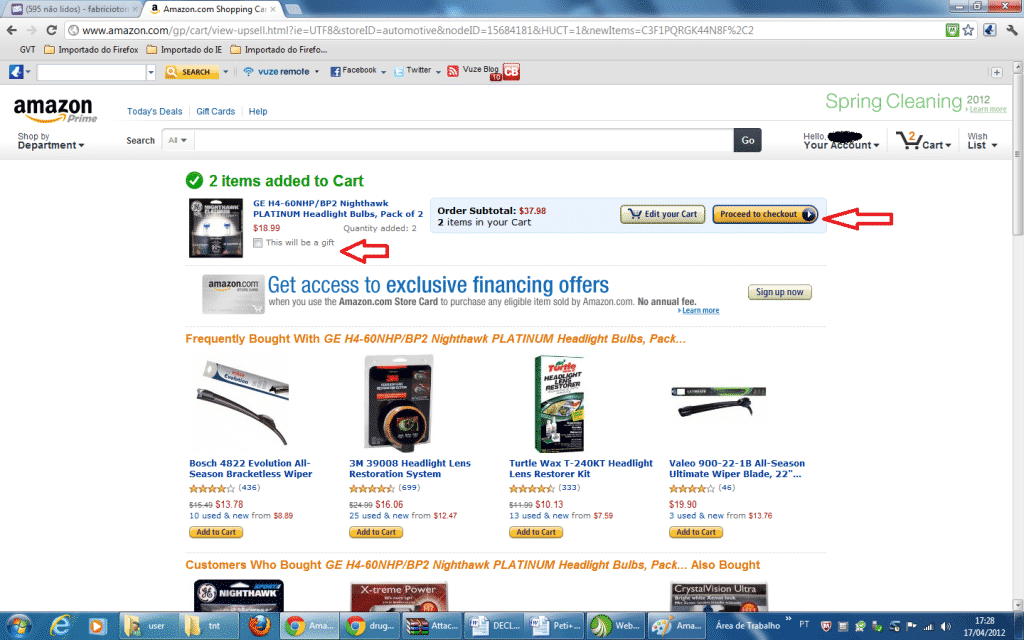como comprar no Amazon