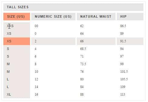703a80f16 Convertendo tamanhos de roupas e calçados nos Estados Unidos