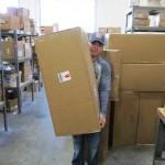 Consolidações de pacotes no Shipito