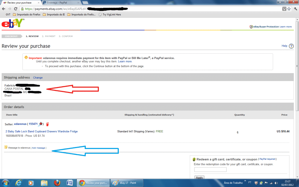 Dicas Ebay