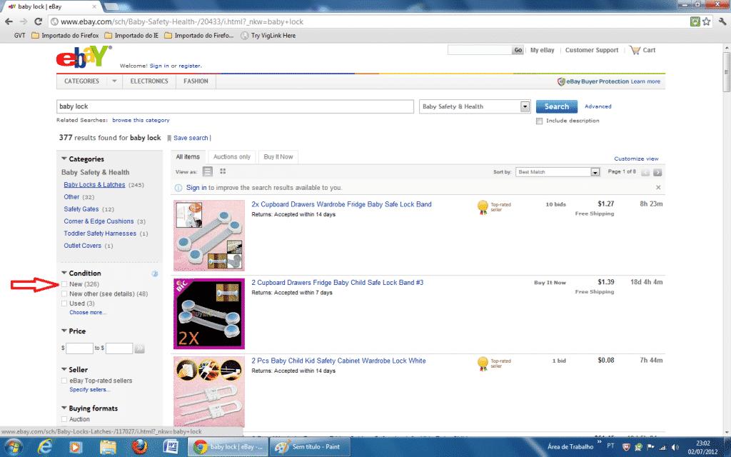 Dicas para compras no Ebay