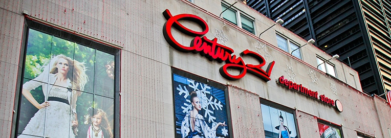Century 21 outlet em New York