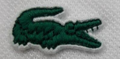 093c4026a44 Importante perceber também que este crocodilo tem um verde de tonalidade  diferente do crocodilo tradicional.