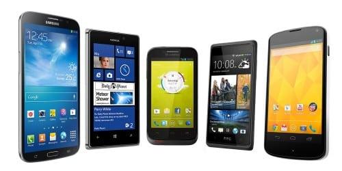 importar smartphone