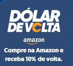 Compre na Amazon e receba 10% de volta com Ebanx