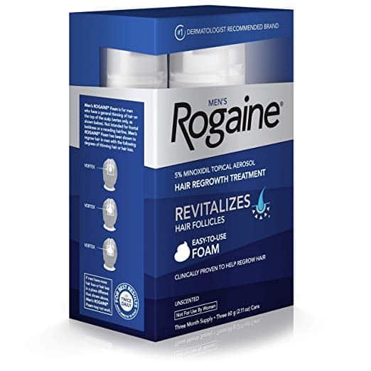 Como importar minoxidil Rogaine para queda nos cabelos
