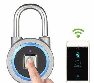 Cadeados  biométricos como importar