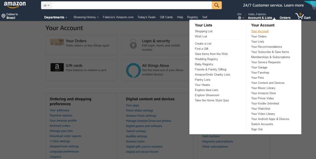 Amazon para iniciantes